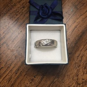 Other - 1/2 Ctw diamond sterling silver ring